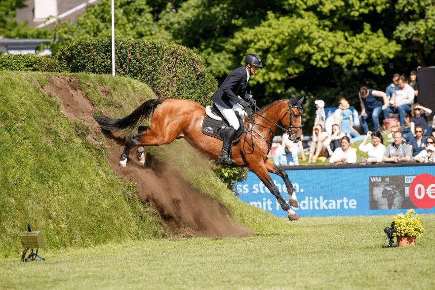 André Thieme und Contadur zählen zu den aussichtsreichen Kandidaten für das 90. Deutsche Spring-Derby, dritte Etappe der BEMER Riders Tour. (Foto: Stefan Lafrentz)