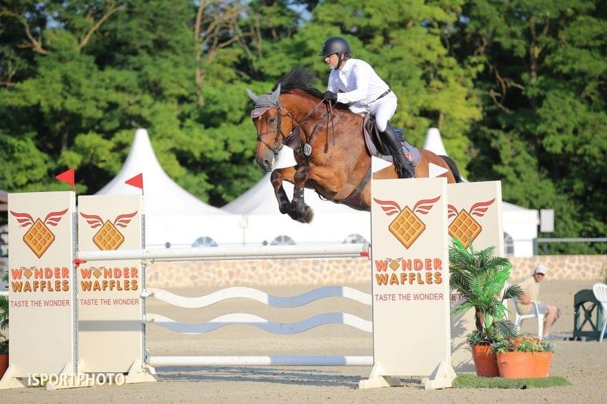 during LAKE ARENA - Equestrian Summer Circuit 1 - 2019, CSI2* - Premium Tour-130cm, 2019. 06. 26. - Wiener Neustadt  (Photo: www.isportphoto.com / Mariann Marko)