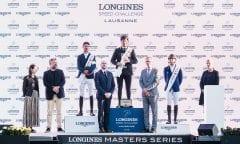 Winners Longines Speed challenge (c) EEM Longines Masters Lausanne