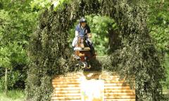 Michael Jung und Star Connection tragen sich im Gelände zum Sieg (c) Event Rider Masters #ERMeventing #ERMroadToLignieresEnBerry.
