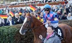 Itobo hofft auf den Sieg im Großen Preis von LOTTO Hamburg (Foto: galoppfoto.de)