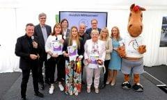Die Sieger des Schaufensterwettbewerbs 2019. Foto: CHIO Aachen/ Andreas Steindl