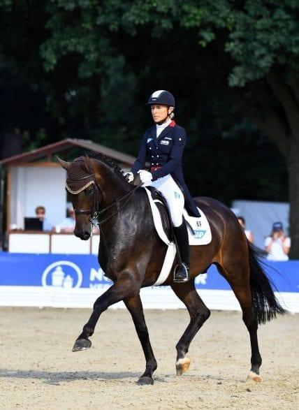Ingrid Klimke war 2018 in Verden erfolgreich (Foto: Maximilian Schreiner)