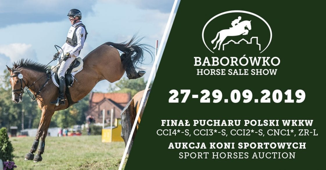 FEI Entry System is open now for Baborówko Horse Sale Show 2019