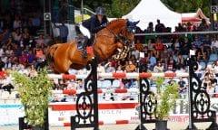 Alexa Stais und Quintato ließen den Kollegen im Großen Preis von Verden keine Chance und gewannen die prestigeträchtigste Springprüfung des internationalen Turniers.(Foto: Rüchel)