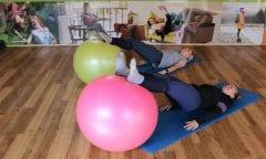 Bewegungstraining macht Spaß und verbessert den Sitz (Foto: RI)