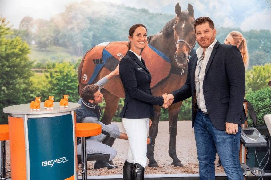 International Bromont 2018 : Jonathan McCrea & Aristoteles V - Grand Prix 2018. Credit Tom von Kap-herr