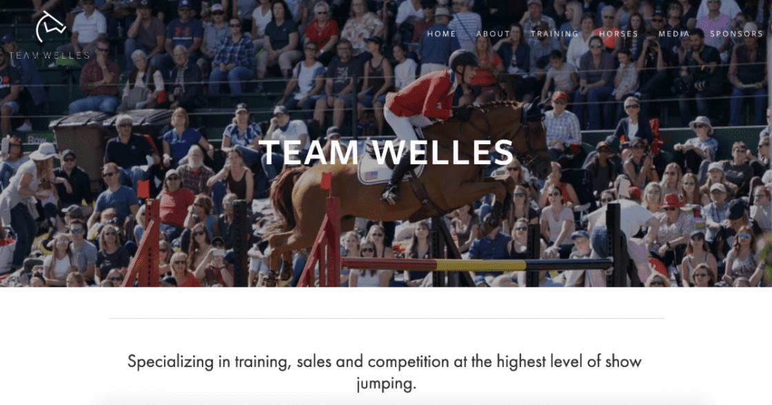 The home page for all things Team Welles