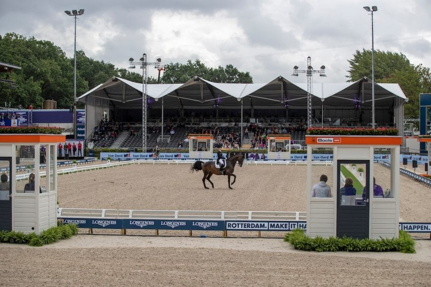 Von Bredow-Werndl Jessica, GER, TSF Dalera BB Rotterdam - Europameisterschaft Dressur, Springen und Para-Dressur 2019 Longines FEI European Championships Dressage Grand Prix - Teams (1st group) Teamwertung 1. Gruppe 19. August 2019 © www.sportfotos-lafrentz.de/Dirk Caremans