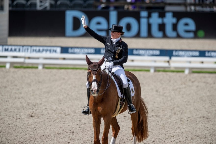 WERTH Isabell (GER), Bella Rose 2 Rotterdam - Europameisterschaft Dressur, Springen und Para-Dressur 2019 Longines FEI European Championships Dressage Grand Prix - Teams (2nd group) Teamwertung 2. Gruppe 20. August 2019 © www.sportfotos-lafrentz.de/Sharon Vandeput