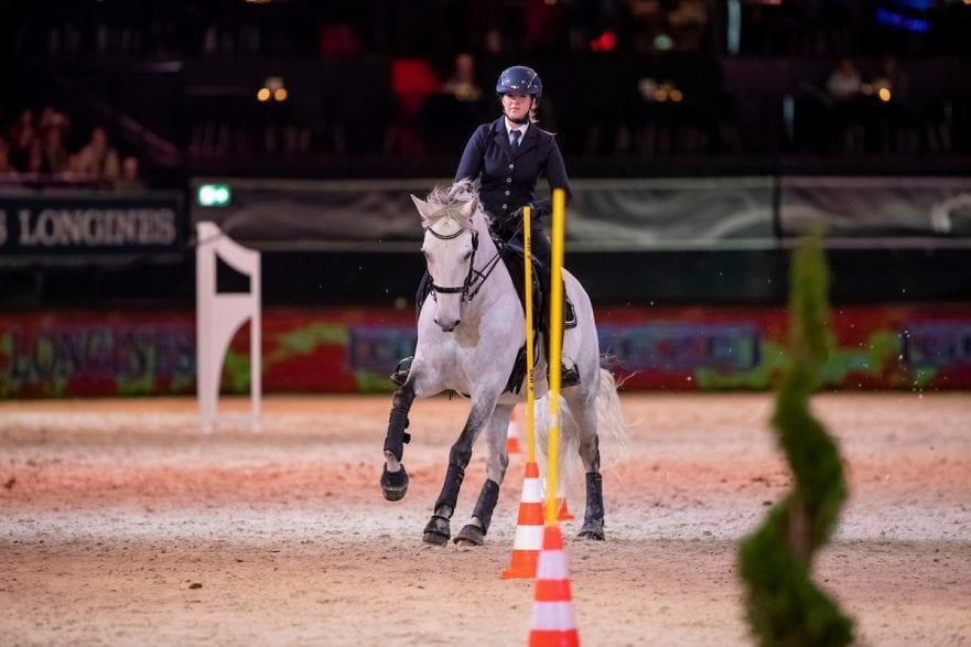 Working Equitation Stuttgart - German Masters 2018 Grosser Showabend 14. November 2018 © www.sportfotos-lafrentz.de/Stefan Lafrentz