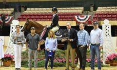The win in the 2018 ,000 Green Hunter 3' and 3'3
