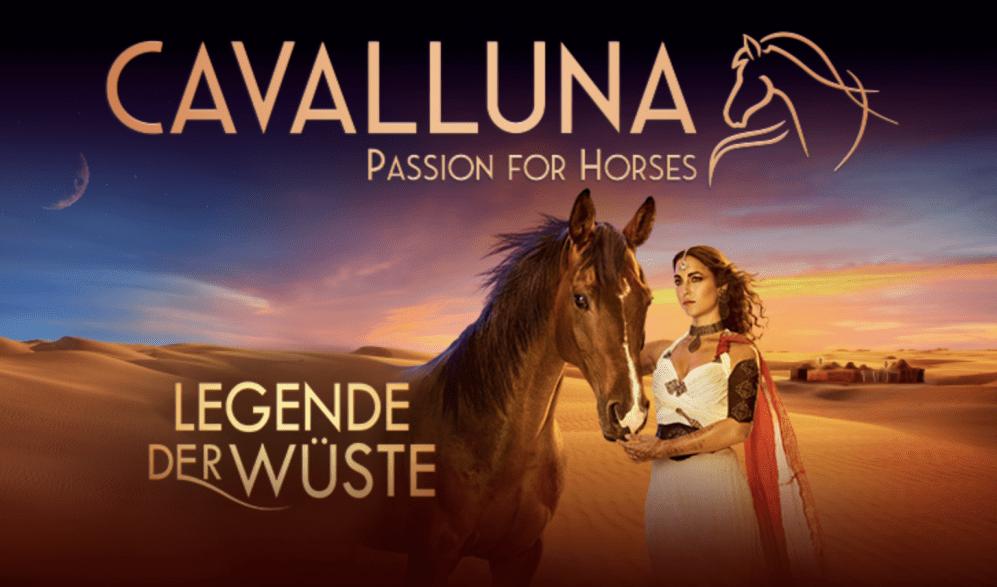 """CAVALLUNA – """"Legende der Wüste"""""""