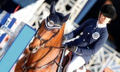 Edwina Tops-Alexander is named to the St. Tropez Pirates team for the GCL Final in New York. Can the Pirates hold on to their ranking lead? Photo by Stefano Grasso/LGCT.
