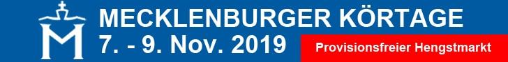 Mecklenburger Körtage - 2019