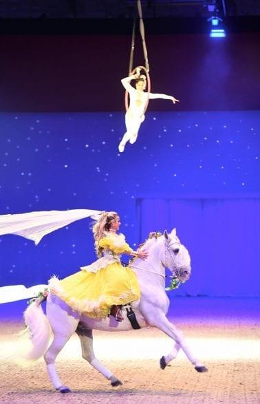 HansePferd 2018 , B7 , Galashow Romantik pur Excalibur-Horse Shows Dajana Pfeifer (©Hamburg Messe und Congress / Michael Zapf)
