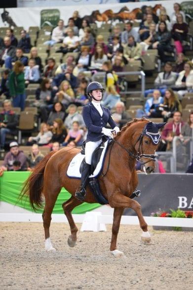 Bei der Faszination Pferd gehört der NÜRNBERGER BURG-POKAL der Bayerischen Junioren auch in diesem Jahr zum Programm. (Foto: Maximilian Schreiner)