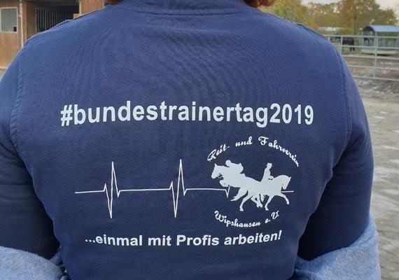 Der RV Wipshausen trainierte mit Dressur-Bundestrainer Sebastian Heinze (Bildquelle: pferd-aktuell.de)