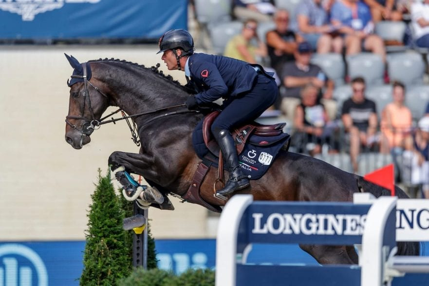 MARZIANI Luca (ITA), TOKYO DU SOLEIL Rotterdam - Europameisterschaft Dressur, Springen und Para-Dressur 2019 Longines FEI Jumping European Championship part 2 - team 2nd and final round Finale Teamwertung 2. Runde 24. August 2019 © www.sportfotos-lafrentz.de/Stefan Lafrentz