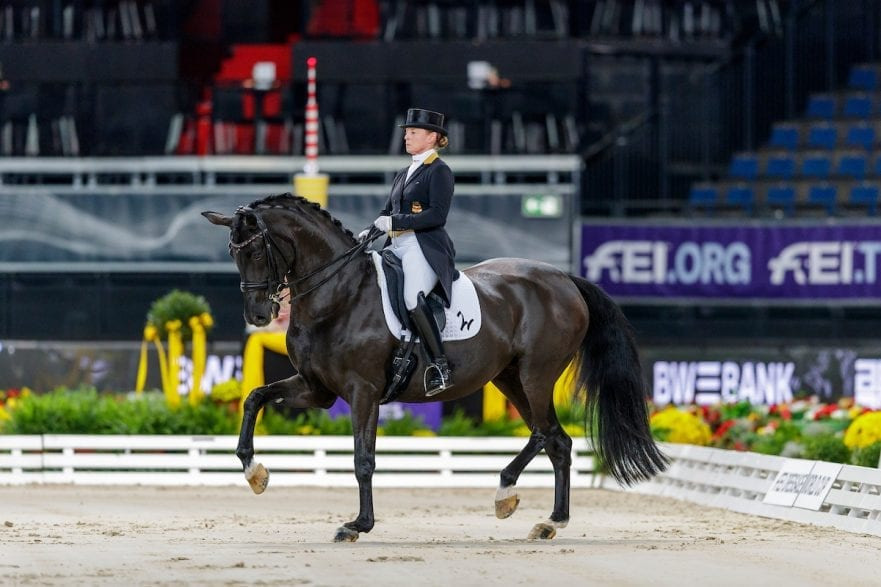 WERTH Isabell (GER), Weihegold OLD Stuttgart - German Masters 2019 PREIS DER FIRMA ABELEIN EVENT SERVICE FEI Dressage World Cup Grand Prix  Int. Dressurprüfung - CDI-W Qualifikation zur Grand Prix Kür 15. November 2019 © www.sportfotos-lafrentz.de/Stefan Lafrentz