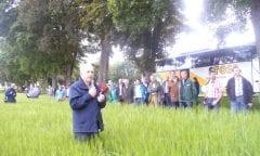 Landwirtschaftlicher Verwalter mit Herz für die Pferdezucht: Wulfhart Beckereit verabschiedet sich nach 28 Jahren im Gestütshof St. Johann in den Ruhestand (Foto: Archiv Marbach)