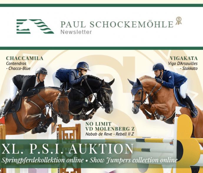 XL. P.S.I. AuktionSpringkollektion online!