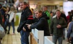 Andre Thieme am Rand des Parcours. (Foto_Messe Berlin GmbH)