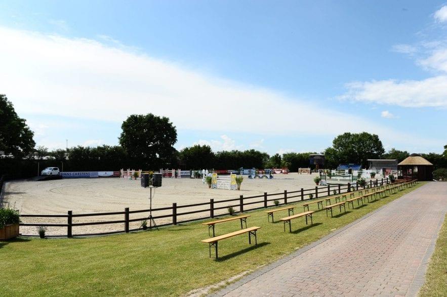 Turnierplatz Ehlersdorf-Naeve. (Foto: U.G.)
