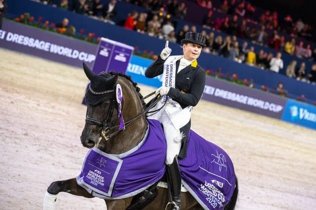 Isabell Werth gewinnt mit Weihegold den Weltcup in Amsterdam (Foto: FEI/Digishots)