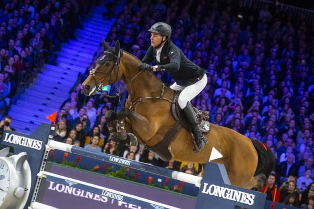 The Netherlands' Marc Houtzager and Sterrehof's Dante Foto: FEI/Digishots