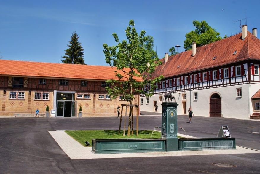 Foto: Marbacher Innenhof (Kurz)