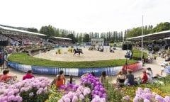 Zum vierten Mal im Sommergarten: das Global Jumping Berlin 24. - 26.Juli 2020 Foto: Thomas Hellmann