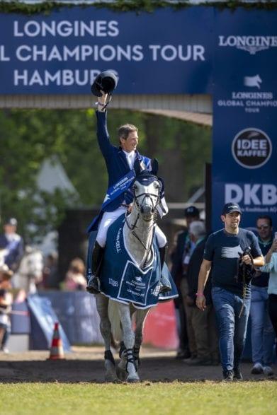 Daniel Deusser kommt nach Hamburg zur Longines Global Champions Tour 2020. Foto: Sportfotos-Lafrentz.de