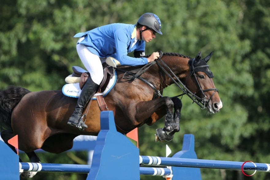 16/08/2013 ; valkenswaard ; Global Champions Tour  CSI5*/2* Valkenswaard 2013 ; 35 - Ahlmann Christian                 - Little Lady Z                  - CSI5 1m50 Friday      ; Sportfot