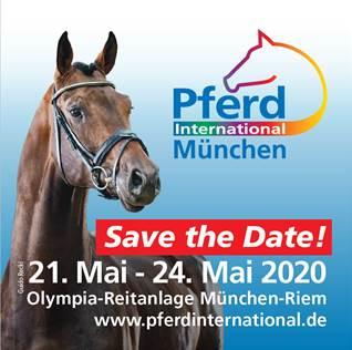 Logo Pferd International München