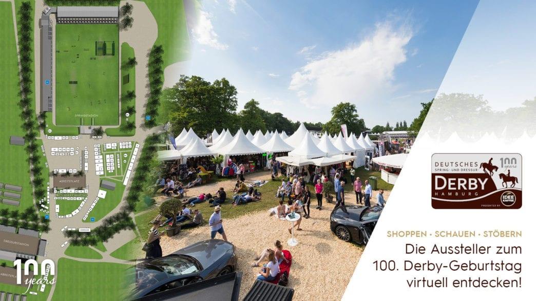 Die Ausstellung zum 100. Derby-Geburtstag