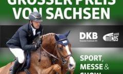 Plakat Grosser Preis von Sachsen