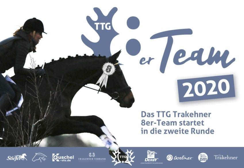 Trakehner reiten und dabei sein - im TTG Trakehner 8er-Team 2020!