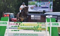 Marco Kutscher und Charco im Preis der LVM Versicherung. Foto: Foto Rüchel