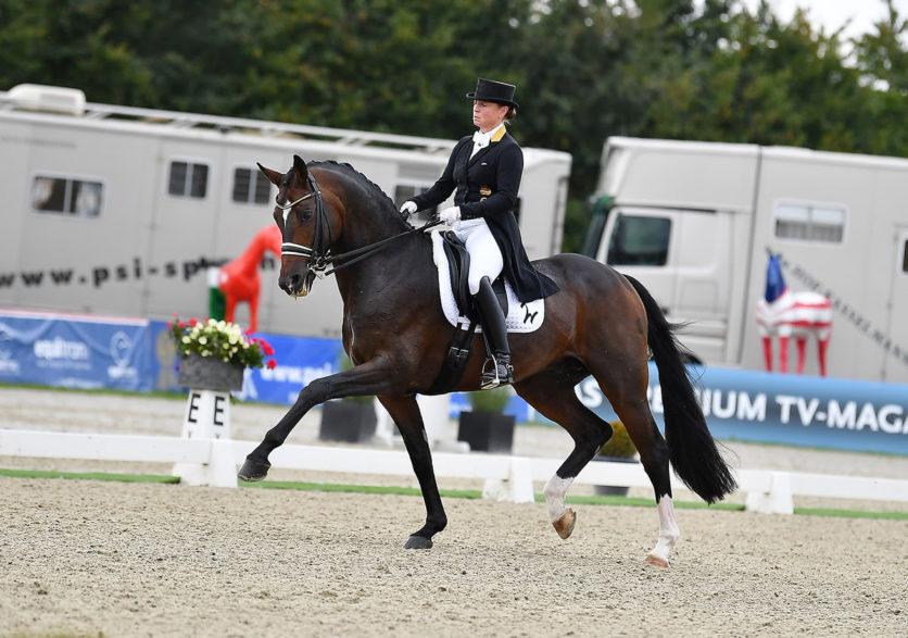 Isabell Werth gewinnt mit DSP Quantaz den Grand Prix Spezial (Foto: Rüchel)