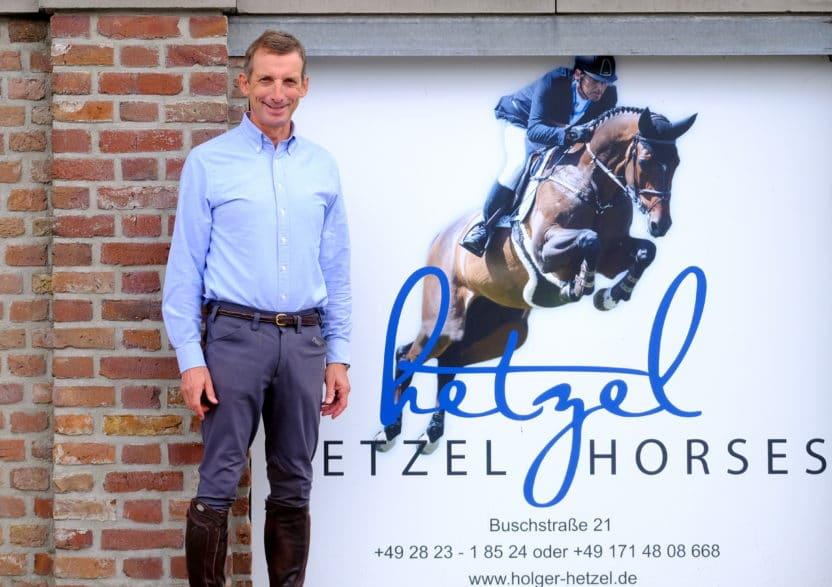 Holger Hetzel und sein Team bieten auch 2020 eine Internationale Springpferde-Auktion an. Foto: Holger Hetzel