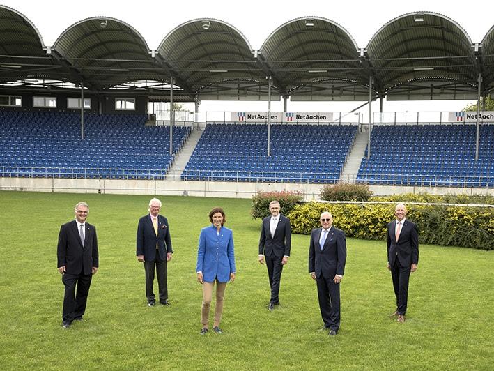 Der Aufsichtsrat des ALRV (v.l.): Peter Weinberg, Baron Wolf von Buchholtz, Stefanie Peters, Dr. Thomas Förl, Wolfgang
