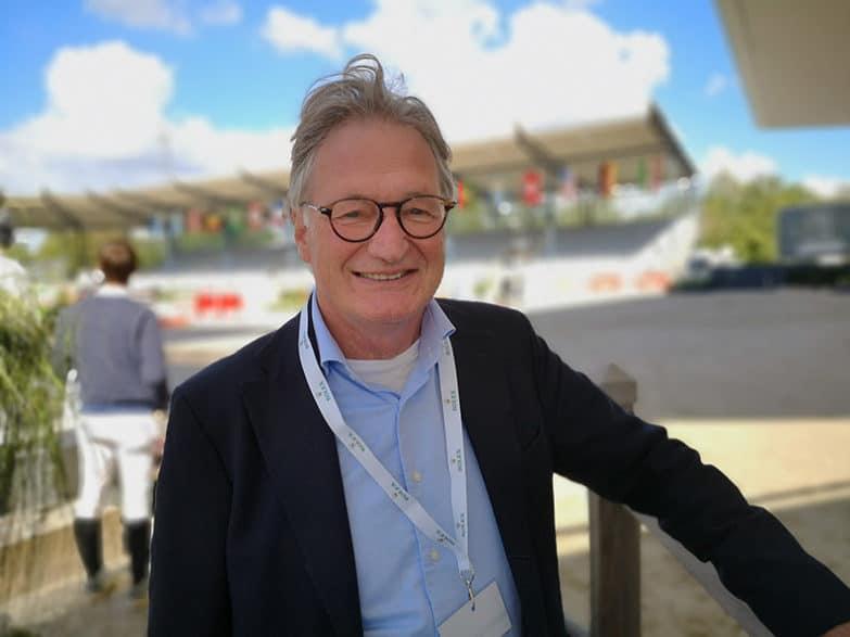 Frank Kemperman im Deutsche Bank Stadion.