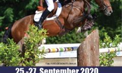 Das Plakat der Landesmeisterschaften Springen in Bad Segeberg. (Quelle: Pferdesportverband Schleswig-Holstein e.V.)