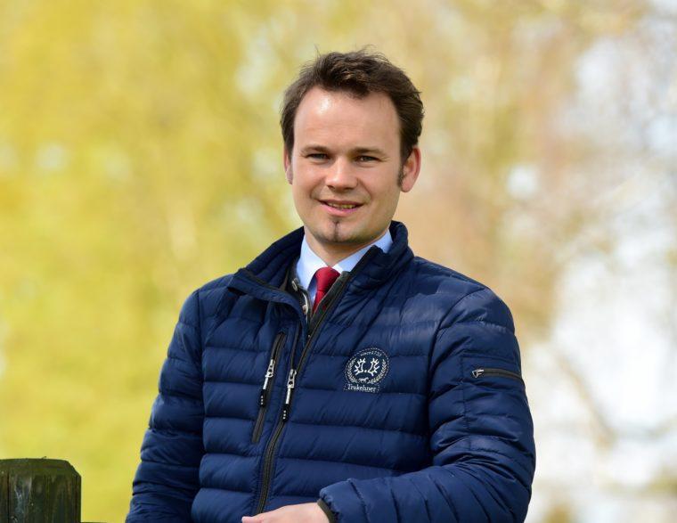 Der stellvertretende Zuchtleiter Neel-Heinrich Schoof. (Foto: Janne Bugtrup)
