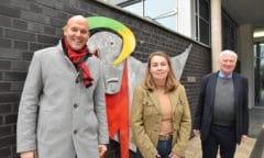 Olaf Krause, Dr. Susanne Marx-Nowak und Dr. Hans-Peter Karp.(Foto: EQUOVIS)