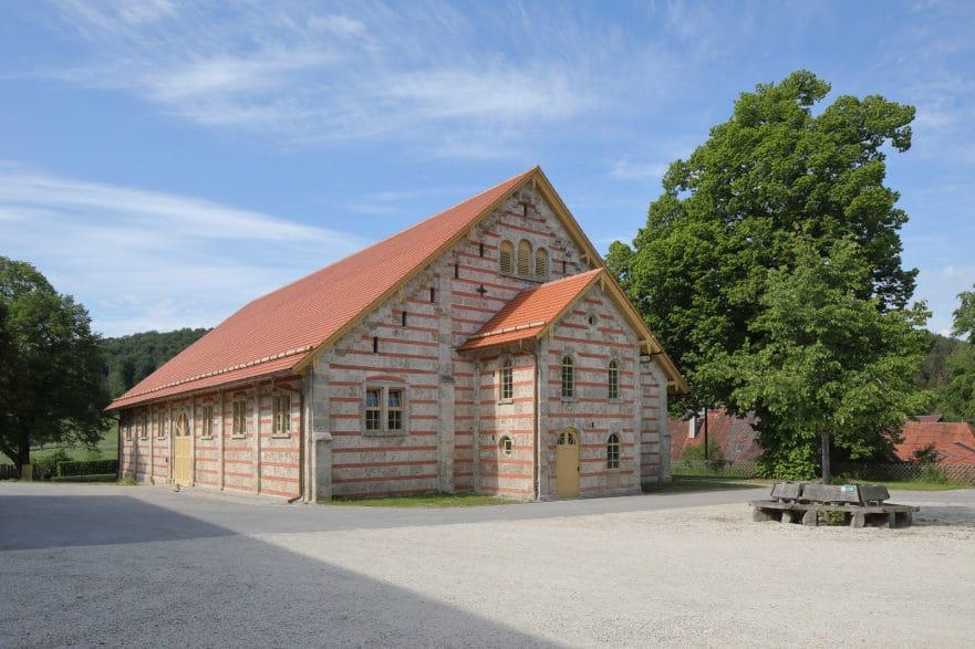 Ausgezeichnet: die Sanierung der Historischen Reithalle Marbach (Foto: Radon)