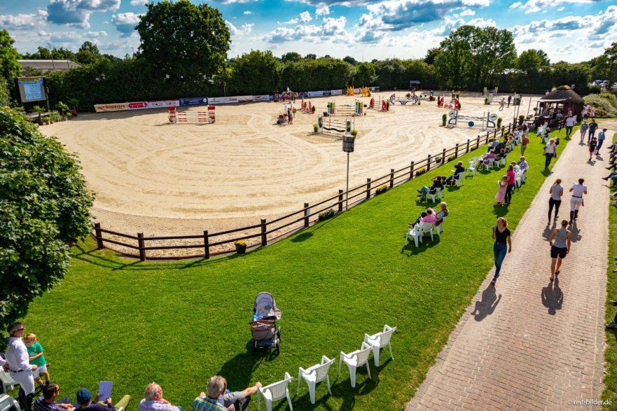 War schon oft Standort für nationale Turniere - die Reitanlage Jörg Naeve in Ehlersdorf. (Foto:reitbilder.de)