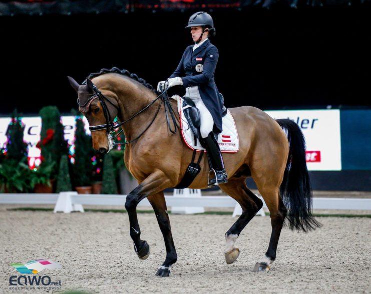 Platz 3 für Astrid Neumayer (OÖ) und Zap Zap. © EQWO.net