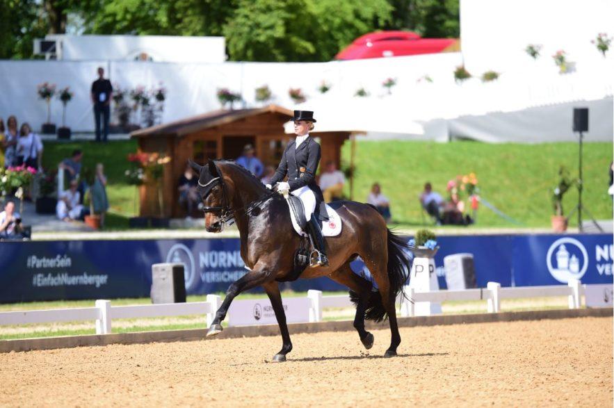 Jessica von Bredow-Werndl bei  Pferd International (Foto: Marc Grosse-Feldhaus)